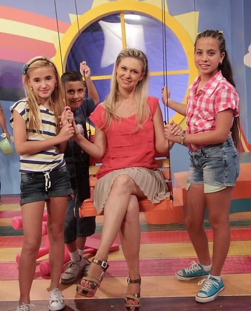 """מיכל ינאי בתוכנית הילדים """"חדר החלומות"""". חזרה למקורות (צילום: רפי דלויה) (צילום: רפי דלויה)"""