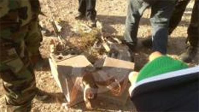 המתקן שאותר לפי התקשורת הלבנונית ופוצץ ()
