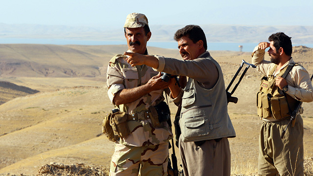 לוחמי הפשמרגה. הצלחות בשטח (צילום: AFP) (צילום: AFP)