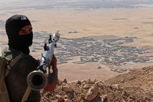 Peshmerga forces in Iraq (Photo: Reuters) (Photo: Reuters)