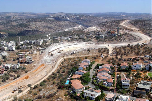Settlement of Beit Aryeh (Photo: Meir Partush) (Photo: Meir Partush)