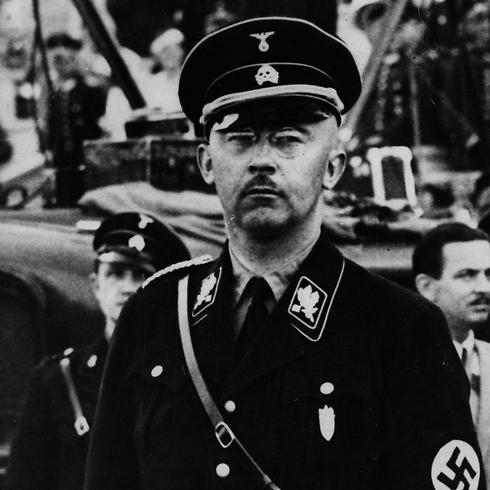 מפקד האס-אס, היינריך הימלר. אביו של הרצוג השתתף בלכידתו של הפושע הנאצי (צילום: gettyimages imagebank) (צילום: gettyimages imagebank)