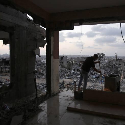 Destruction in Gaza (Photo: Reuters) (Photo: Reuters)