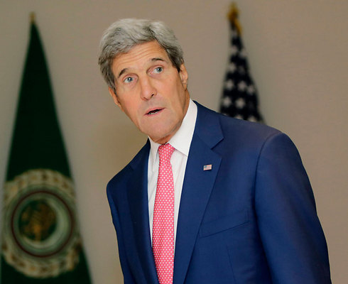 US Secretary of State John Kerry in Egypt (Photo: AP)