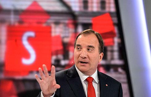 Prime Minister Stefan Lofven (Photo: Reuters)