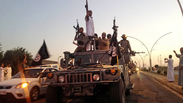 IS militants in Iraq (Photo: AP) (Photo: AP)