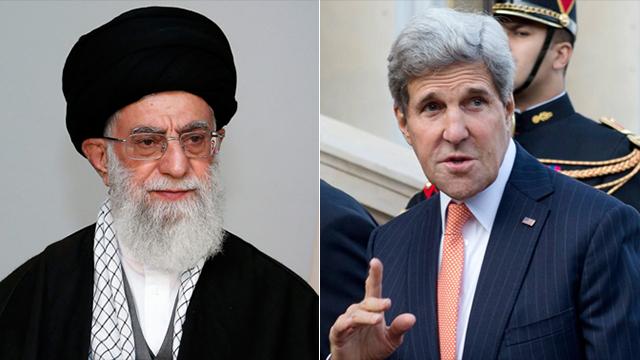 US Secretary of State John Kerry / Ayatollah Ali Khamenei (Photo: AP / AFP)