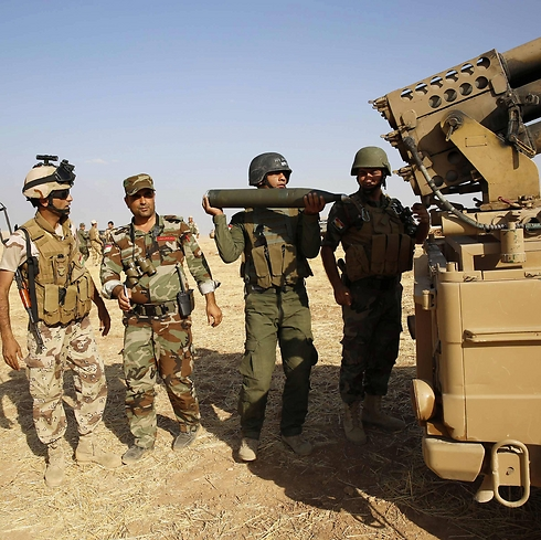 Kurdish forces in Iraq (Photo: Reuters) (Photo: Reuters)