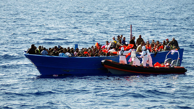 En route to Europe (Photo: AFP/ MOAS ? HO)