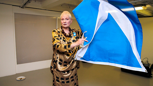תומכת בעצמאות סקוטלנד (צילום: רויטרס)