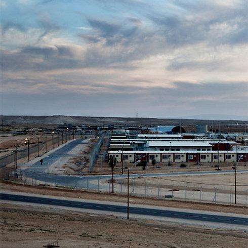 Holot detention facility in Negev (Photo: Malin Fezehal) (Photo: Malin Fezehal)