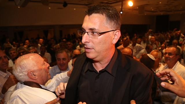 Gideon Sa'ar agrees with Shaked's proposal. (Photo: Motti Kimchi) (Photo: Motti Kimchi)