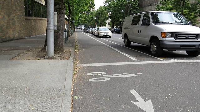 500 קילומטרים של שבילי אופניים. בפורטלנד לא צריך רכב (צילום: אורי שיינס) (צילום: אורי שיינס)