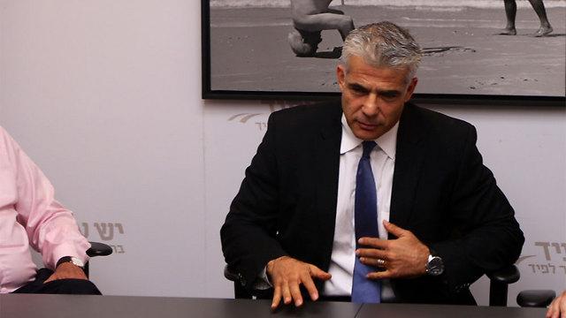 Yesh Atid Chairman Yair Lapid (Photo: Motti Kimchi)