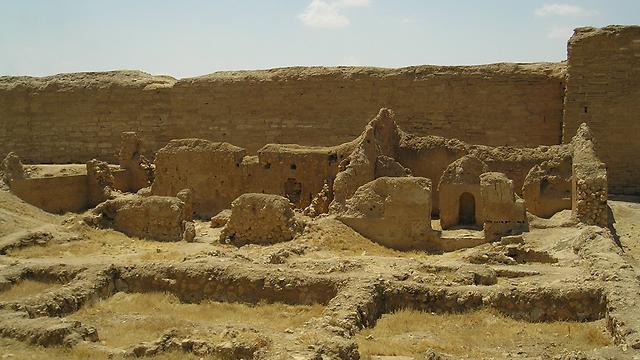 חפירות בעיר הקדומה דורה אירופוס, מקום מושבו של בית כנסת עתיק ()