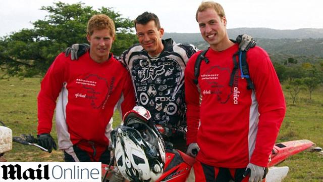 השלושה במסע בדרום אפריקה לפני שש שנים ()