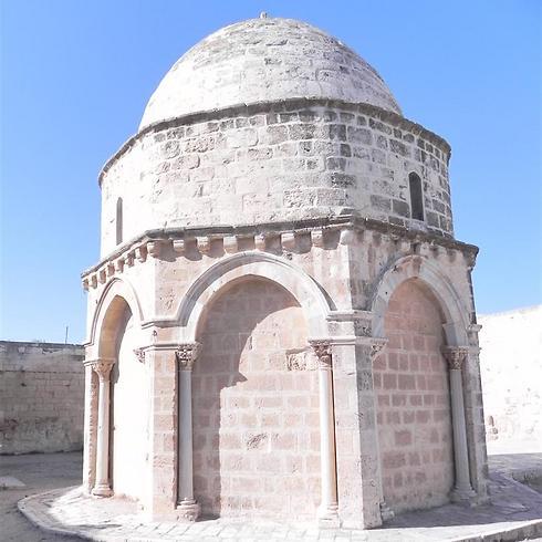 כנסיית העלייה בהר הזיתים: אתר בשליטה מוסלמית עם טקסים נוצריים  (צילום: זיו ריינשטיין) (צילום: זיו ריינשטיין)