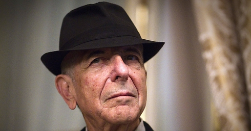 """""""'אנשים חושבים שאני מחפש דת חדשה, אבל אני שמח עם הדת הקודמת"""". לאונרד כהן (צילום: AFP)"""