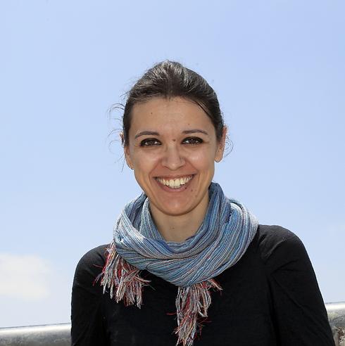 Italian journalist Francesca Borri (Photo: Haim Tzach)