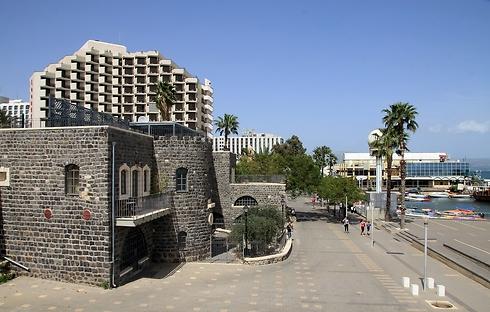 Tiberias. A sharp downturn (Photo: Shutterstock)