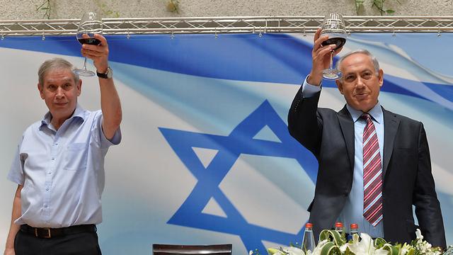 Pardo and Netanyahu: On the same page (Photo: GPO)