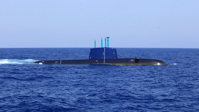 צוללת של חיל הים (צילום: רועי עידן) (צילום: רועי עידן)