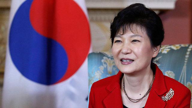 רוצה להפוך את ארצה למדינת סטארט-אפ כמו המודל הישראלי. נשיאת דרום קוריאה פארק ג'ן-הייאה (צילום: רויטרס)