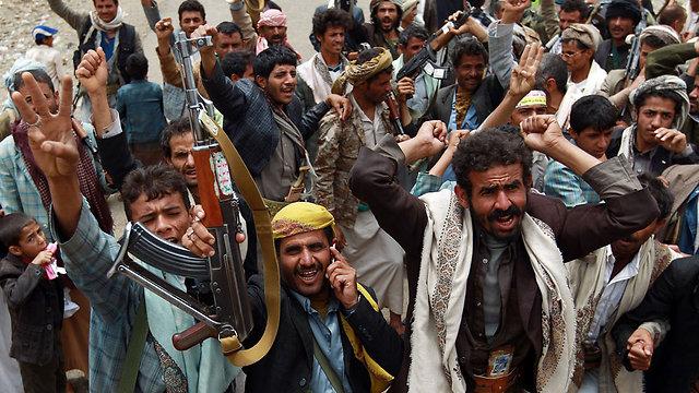 Shiite rebels in Yemen (Photo: AFP)