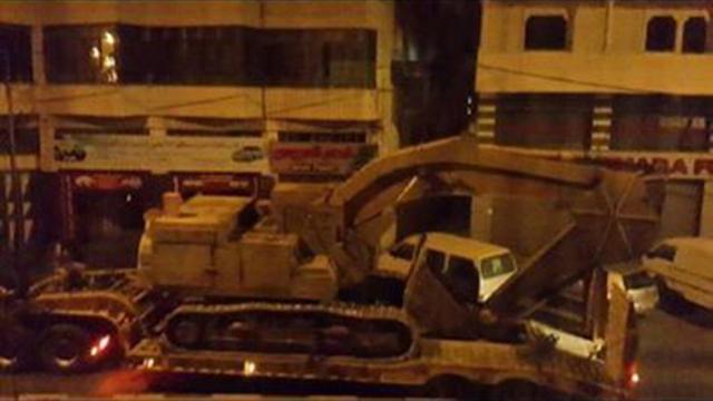 כוחות הביטחון בחברון, הלילה ()
