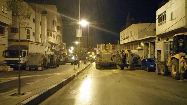 IDF forces in Hebron (Photo: IDF)
