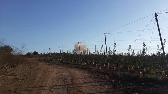 גבול ישראל-סוריה, הבוקר ()