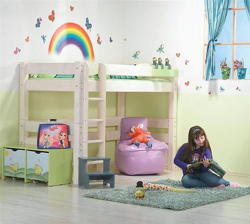 אפשר לרענן את חדר הילדים באמצעות מדבקות קיר (צילום: עצמל'ה) (צילום: עצמל'ה)