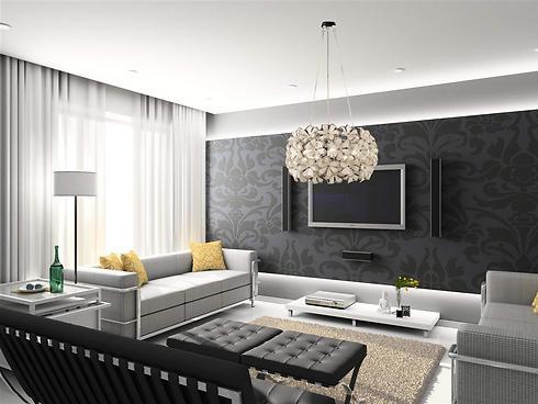 אחרי כן מומלץ להתמקד בעיצוב הסלון (צילום: מחסני תאורה) (צילום: מחסני תאורה)