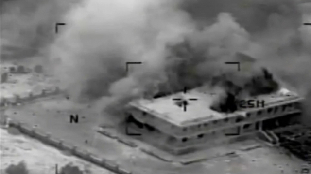Previous coalition strikes in Syria. (Photo: Reuters) (Photo: Reuters)