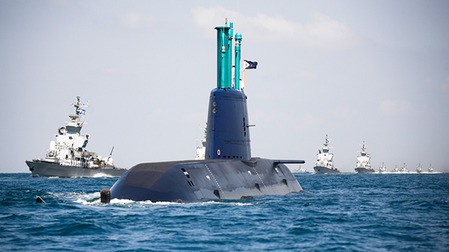 INS Tanin (Photo: IDF Spokesman's Office)