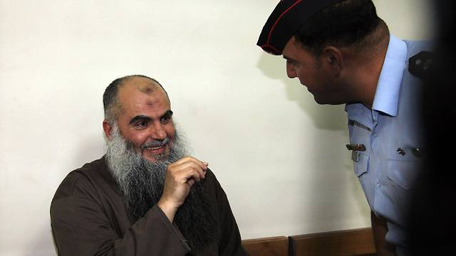 Abu Qatada in court in Jordan (Photo: EPA)