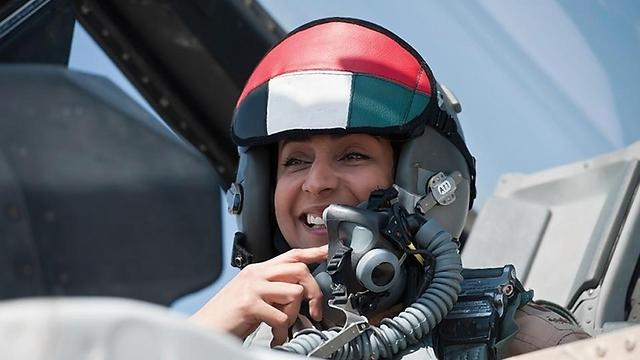 UAE female pilot leading strikes against IS (Photo: UAEAF)
