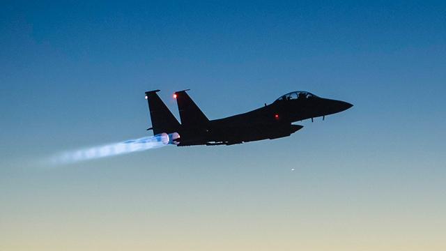 סוס עבודה של חיל האוויר. F15 (צילום: AP) (צילום: AP)