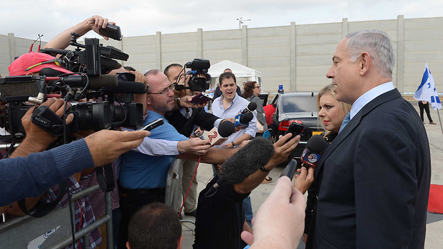 Prime Minister Netanyahu (Photo: Avi Ohayon, GPO)