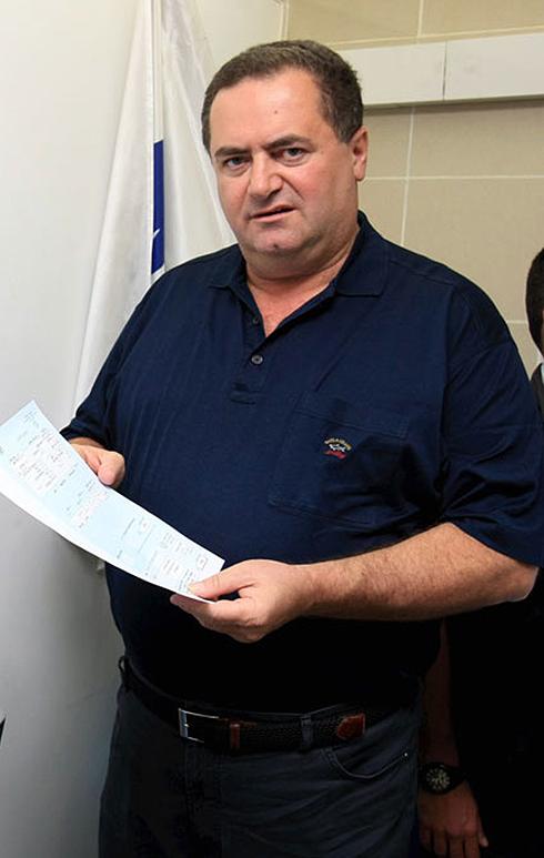 שר התחבורה ישראל כץ. בחר את איש מרכז הליכוד לשעבר (צילום: מיכאל קרמר) (צילום: מיכאל קרמר)