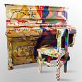 הפסנתר שהתחפש מוזיאון אילנה גור צילום: נמרוד סנדורס