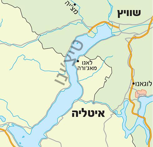 (מפה: Shutterstock)