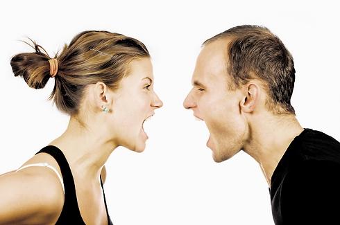 אתה לא תצעק עלי אני יכולה לצעוק חזק יותר (המחשה: ShutterStock) (המחשה: ShutterStock)