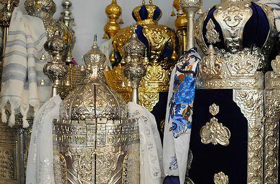 Torah scrolls (Photo: Sharon Tzur) (Photo: Sharon Tzur)