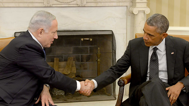 Netanyahu and Obama at the White House (Photo: GPO)  (Photo: GPO)