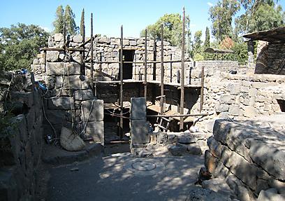 מהתקופה הביזנטית (צילום: יעל אלף, רשות העתיקות  )