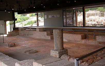 לא מרדו ברומאים, והשתמרו (צילום: יעל אלף, רשות העתיקות  )