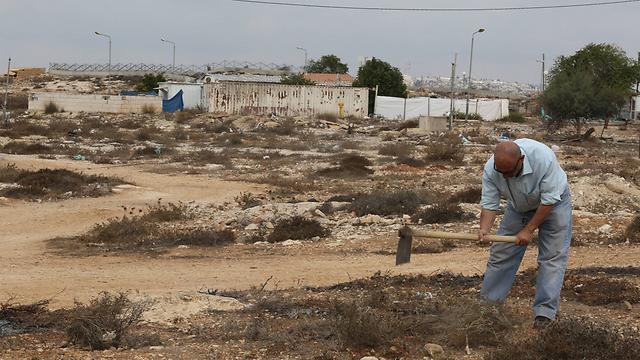 """גבעת המטוס בירושלים שבה מתוכננת בנייה. """"כמו לבנות בפריז"""" (צילום: גיל יוחנן) (צילום: גיל יוחנן)"""