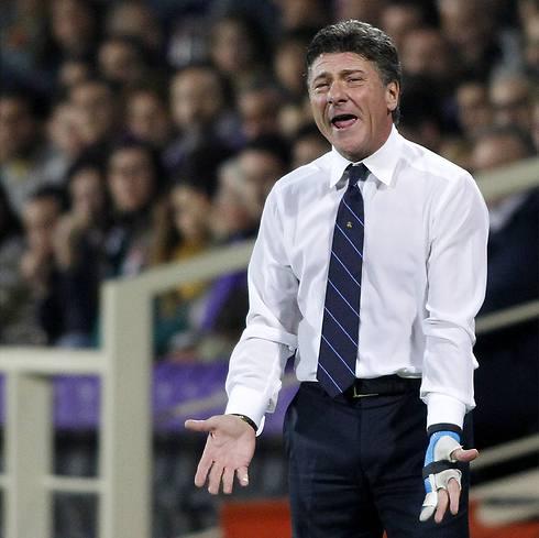 מאמן איטלקי לבעלים איטלקי. וולטר מצארי (צילום: AP) (צילום: AP)