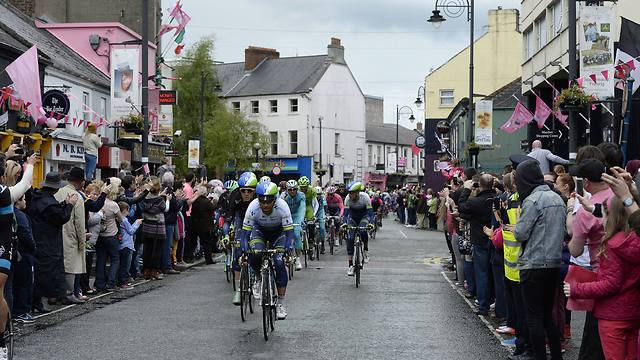 The Giro d'Italia tournament, held in Dublin, Ireland (Photo: AP) (Photo: AP)
